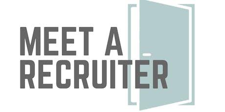 #MeetARecruiter Melbourne tickets