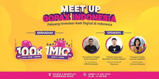 GOPAX MEET UP 3.0 - Peluang Investasi Aset Digital di Indonesia