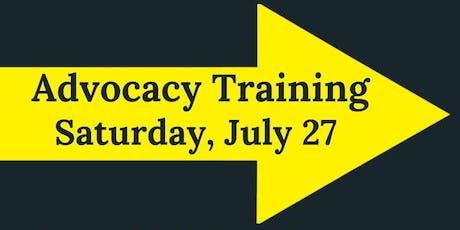 Advocacy Training tickets