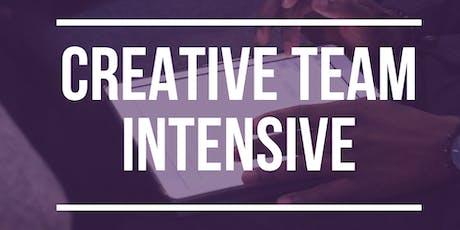 Creative Team Intensive tickets