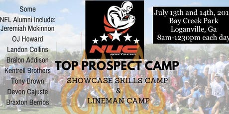 NUC Top Prospect Football Camp | Atlanta, GA | July 18th and 19th, 2020 tickets