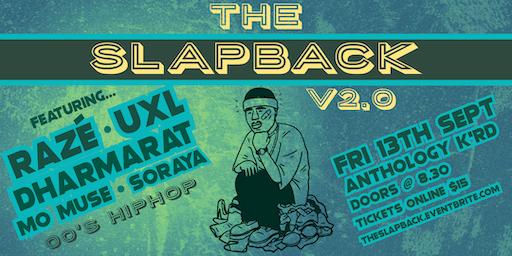 The Slapback II - LIVE 00's Hiphop/RnB Night