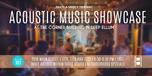 Acoustic Music Showcase