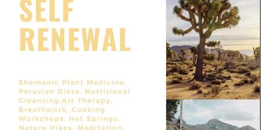 Ayahuasca Healing Retreat Joshua Tree