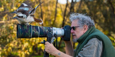 Inspirational photography with Steve Parish: Talk 3 - Creating & sharing photography (Adults 16+) (Woden Library)