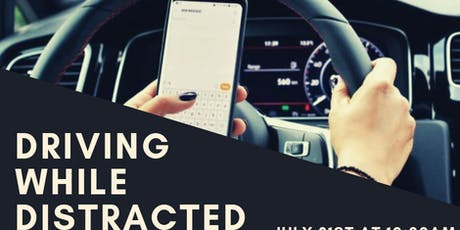 Driving While Distracted: A Sermon on Focus and Faith tickets