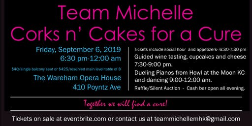 Corks n' Cakes for a Cure-3rd Annual