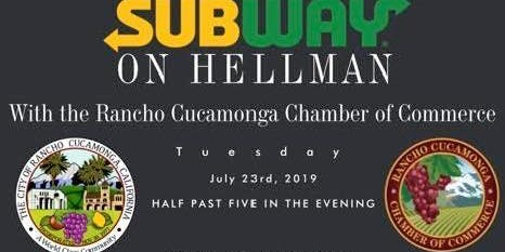 Subway On Hellman One Year Anniversary & Ribbon Cutting Ceremony