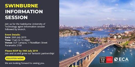 ECA - Swinburne Information Session! tickets