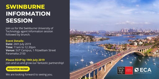 ECA - Swinburne Information Session!