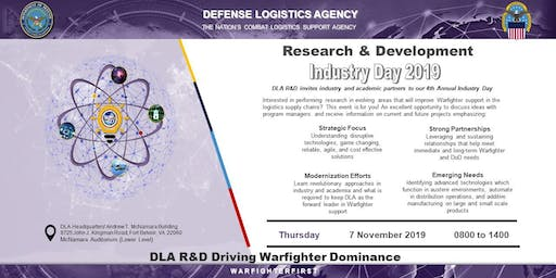 DLA Research and Development Industry Day 2019