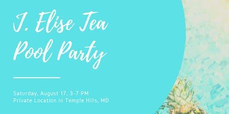 J. Elise Tea Pool Party tickets
