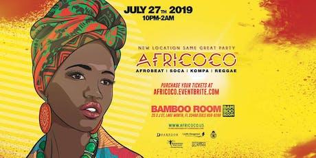 Afroboom @ Bamboo Room  tickets