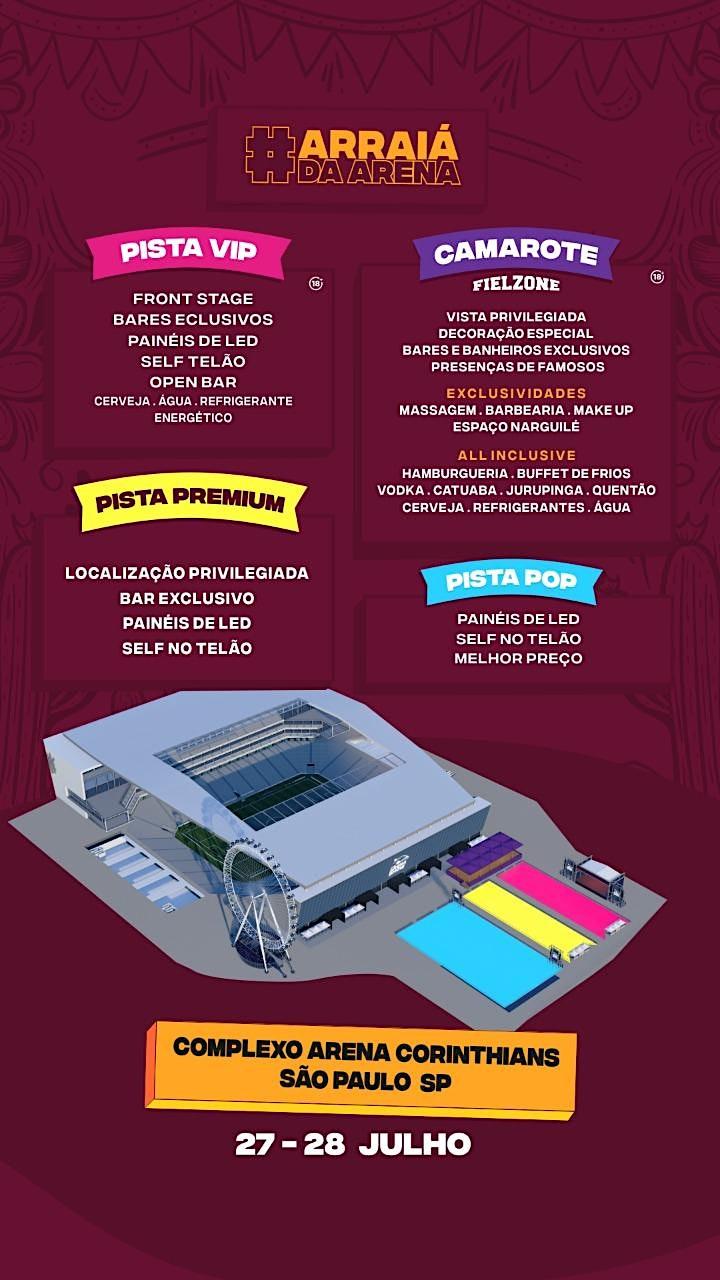 Imagem do evento Arraiá D'Arena