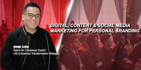 Digital, Content & Social Media Marketing for Personal Branding tickets