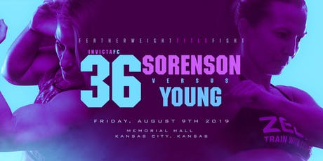Invicta Fighting Championships 36: Sorenson vs Young tickets