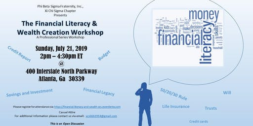 Financial Literacy and Wealth Creation Workshop
