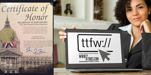 Tech Training For Women (TTFW) in compliance with 29 US Code Chapter 27