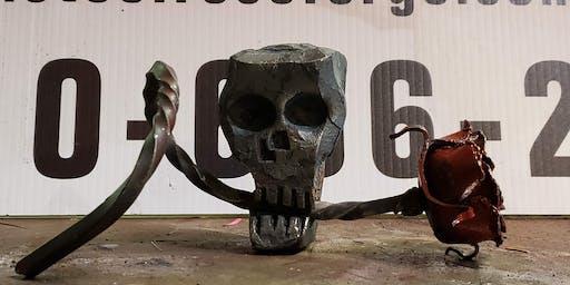 Press forging (skull build)