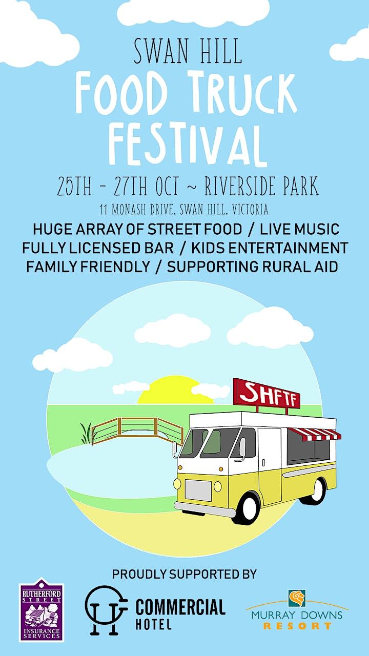 Swan Hil Food Truck Festival image