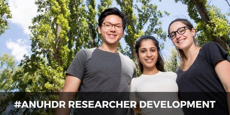 ANUHDR: Raising Your Research Profile tickets
