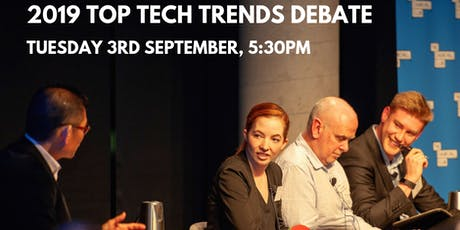 Top Tech Trends Debate 2019 tickets