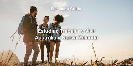 Seminario: Estudiar, Trabajar y Vivir en Nueva Zelanda o Australia entradas