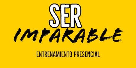 ¡2x1! Ser Imparable - Entrenamiento Presencial - MTY boletos