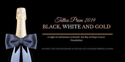 Ink Inertia Presents: The Fifth Annual Tattoo Prom, Black White and Gold!