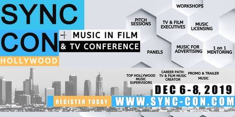 SYNC CON, Hollywood: Music In Film and TV Conference tickets