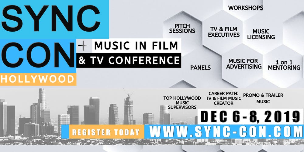 SYNC CON, Hollywood: Music In Film and TV Conference Tickets, Fri