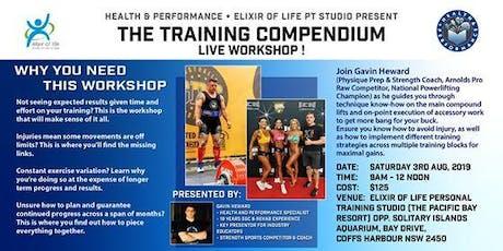 The Training Compendium tickets