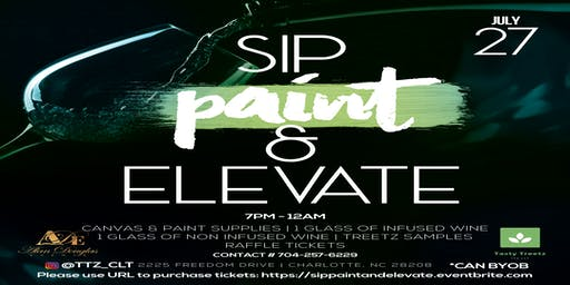 Sip Paint and Elevate