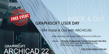 GRAPHISOFT USER DAY - BIM INSIDE & OUT WITH ARCHICAD tickets