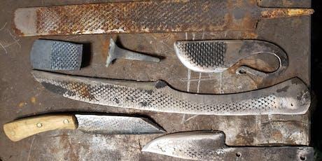 Beginner blacksmith blayde* build (farriers rasp) tickets