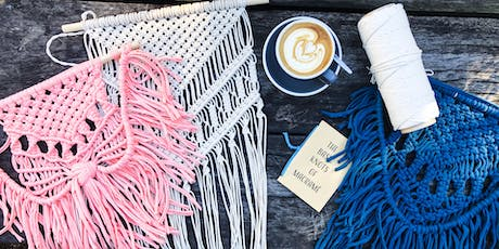 Sunday Craft Funday - Macrame Wall Hanging Workshop with Knot Calm tickets