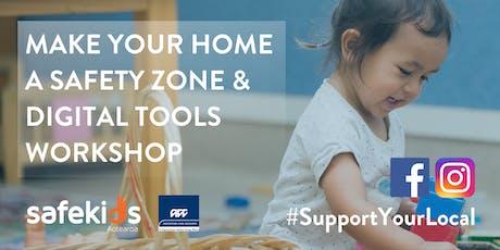 Taranaki Home Safety and Digital Tools Workshop tickets