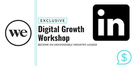 LINKEDIN, How to Build Industry Presence with Content | Workshop Immersive tickets
