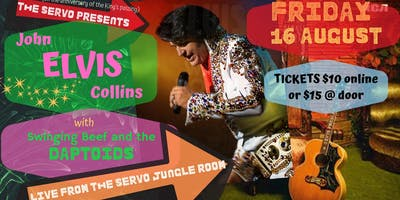 "Elvis Tribute Night with John ""Elvis\"" Collins"