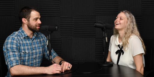 Record Your Podcast In A Real Podcast Studio