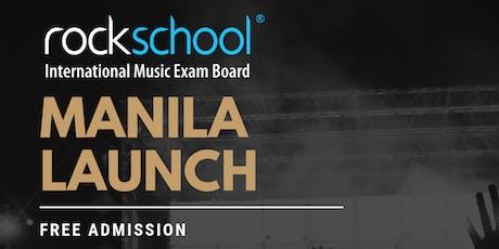 Rockschool_Magnus - Manila Launch (PETA Theater) tickets