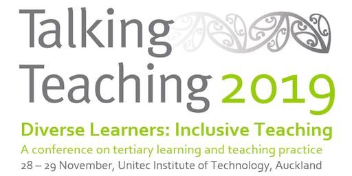 Talking Teaching 2019 - Diverse Learners: Inclusive Teaching