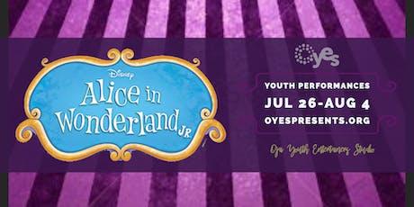 Alice in Wonderland, Jr tickets