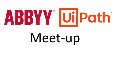 UiPath Meet-up:  UiPath and ABBYY tickets