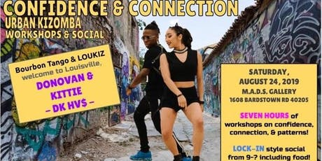 Confidence & Connection Urban Kizomba Workshop & Social tickets