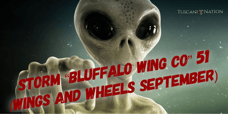 """Storm """"Bluffalo Wing Co"""" 51 (Wings and Wheels September) tickets"""