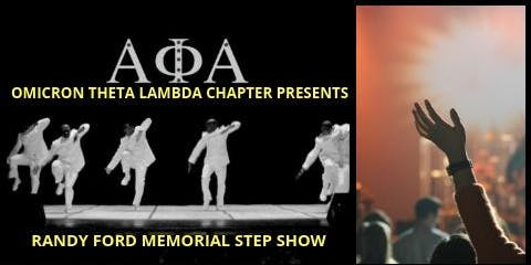 Randy Ford Scholarship Step Show Fundraiser