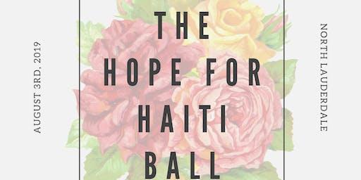 The Hope for Haiti Ball