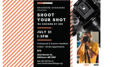Baltimore Event during ArtScape: Shoot Your Shot w/ Designs by Dez tickets