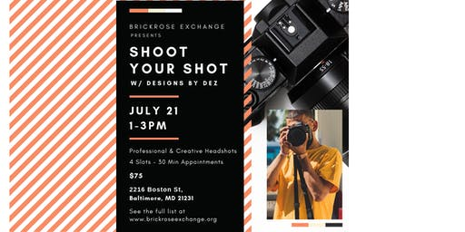 Baltimore Event during ArtScape: Shoot Your Shot w/ Designs by Dez